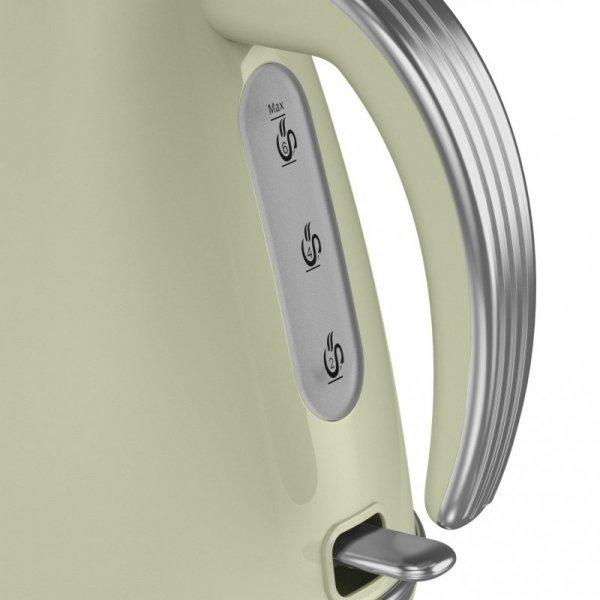 Czajnik elektryczny Swan RETRO SK19020GN (3000W 1.5l; kolor zielony)