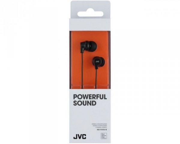 Słuchawki JVC HAF-X10BEF (kolor czarny