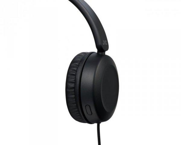 Słuchawki JVC HA-S31M-B (nauszne; TAK; kolor czarny