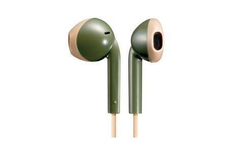 Słuchawki z mikrofonem JVC HAF-19MGCE (douszne; TAK; kolor zielony