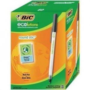 Długopis BIC ROUND STIC CLASSIC czarny 920568