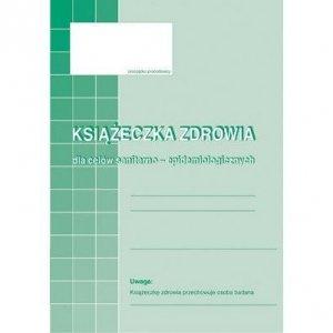 530-5 Książeczka zdrowa A6 16kartek Michalczyk i Prokop