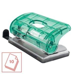 Dziurkacz mini RAPID COLOURICE FC5 zielony 5001332