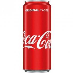 Napój COCA-COLA 0,33L puszka
