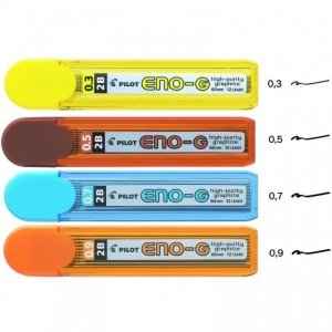 Grafity 0,7 mm ENO G B PIPL-7ENOG-B PILOT