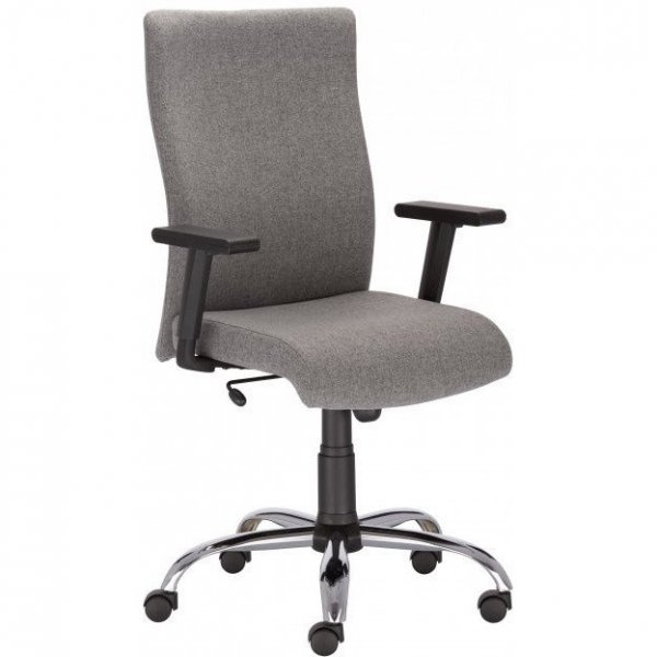 Krzesło William R19T steel EF019 czarny NOWY STYL