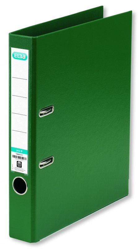 Segregator A4/50mm ELBA PRO+ zielony 100202107