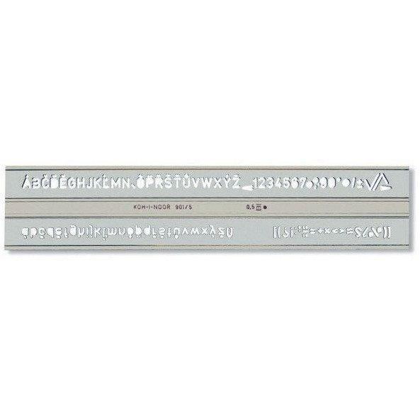 Szablon CYFROWO-LITEROWY 0.5 748006