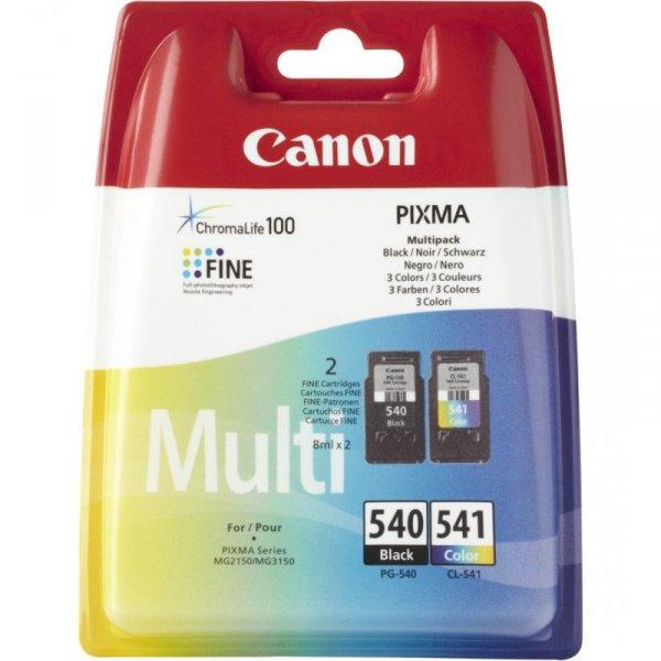 Tusz CANON (PG-540+CL-541/5225B006) czarny+kolor 2szt