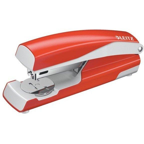 Zszywacz 55020 LEITZ 24-26/6 30k jasnoczerwony średni metalowy 55020020
