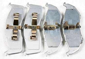 Klocki przednie 591SMD wzmocnion Caravan Voyager Town & Country 1996-2000