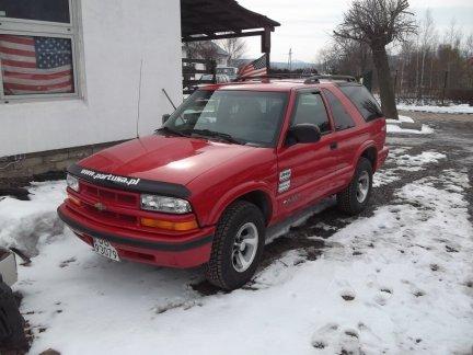 Chevrolet BLAZER 2WD 2 drzwi