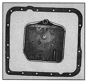 Filtr oleju skrzyni biegów FT1074 Malibu 1983 5.0 L.