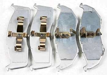 Klocki przednie  591D Caravan Voyager Town & Country 1996-2000