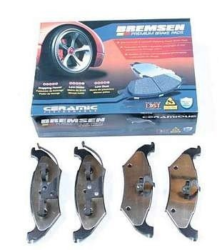 Klocki hamulcowe tylne BCD715 Chrysler Voyager/Grand Voyager GS 1997-2000