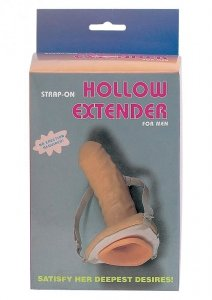 Proteza-STRAP-ON HOLLOW EXTENDER FOR MEN