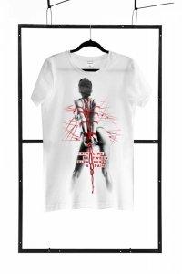 T-shirt men white S regular