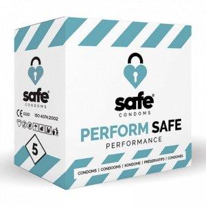 Prezerwatywy - Safe Performance Condoms 5 szt