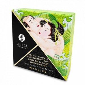 Sól do kąpieli - Shunga Oriental Crystals Bath Salts Single Use & Display Lotus Flower 75