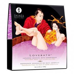 Żel do kąpieli - Shunga Lovebath Sensual Lotus Zmysłowy Lotos