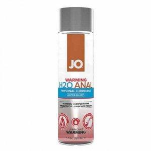 Lubrykant wodny - System JO Anal H2O Lubricant Warming 120 ml Rozgrzewający