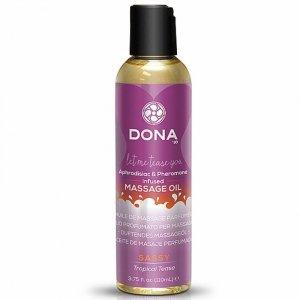 Olejek do masażu - Dona Scented Massage Oil Tropical Tease 125 ml