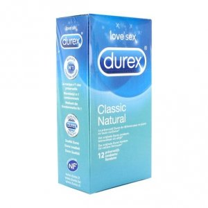 Prezerwatywy - Durex Classic Natural Condoms 12 szt