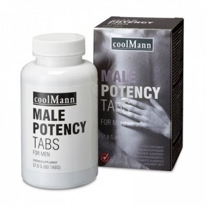 Tabletki na potencję - CoolMann Male Potency Tabs