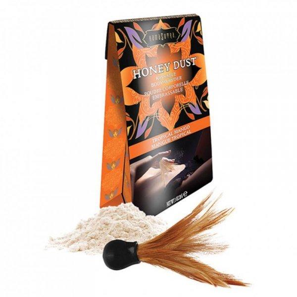 Puder do ciała - Kama Sutra Honey Dust Body Powder Tropical Mango 28 gram