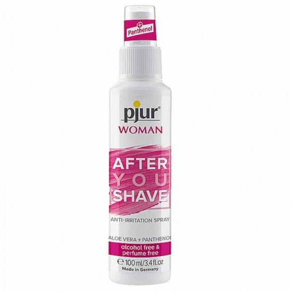 Spray po goleniu dla kobiet - Pjur Woman After You Shave Spray 100 ml
