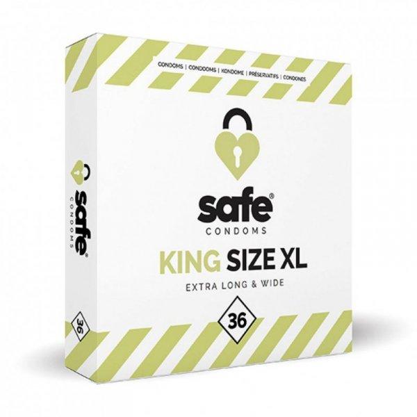 Prezerwatywy - Safe King Size XL Condoms 36 szt