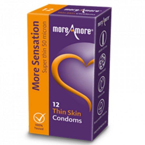 Prezerwatywy - MoreAmore Condom Thin Skin 12 szt