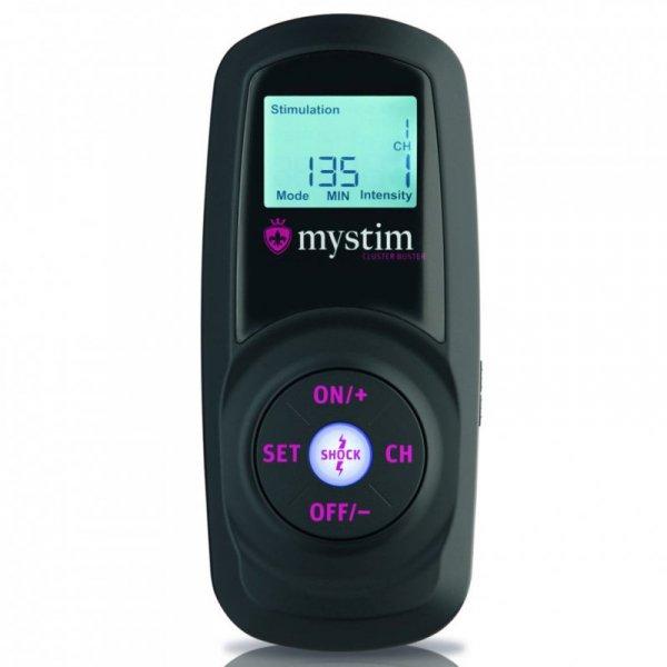 Zestaw sterujacy bezprzewodowo - Mystim Cluster Buster Wireless eStim Device Starterkit