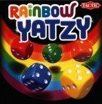 Tęczowe Yatzy gra w kości