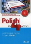 Polski w 4 tygodnie wersja angielska. Etap 1 z nagraniami MP3 do pobrania. Polish in 4 weeks. Level 1