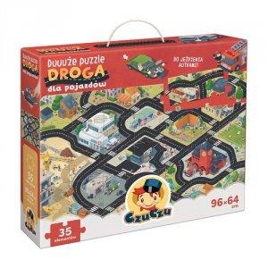 CzuCzu Duuuże puzzle Droga dla pojazdów 3+