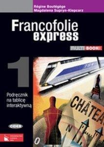 Francofolie express 1. Multibook. Podręcznik na tablicę interaktywną