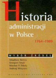 Historia administracji w Polsce 1764-1989