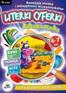 Zabawa i Nauka: Literki cyferki 4-7 lat