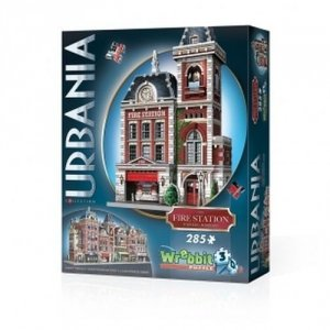 Puzzle 3D Urbania  Fire Station 285 elementów