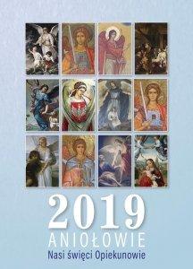 Kalendarz 2019 Aniołowie