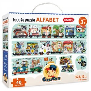 Duuuże puzzle Alfabet