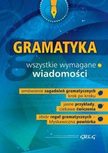 Gramatyka szkoła podstawowa gimnazjum