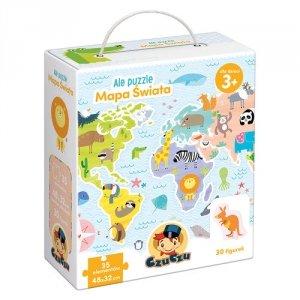 Ale puzzle Mapa świata