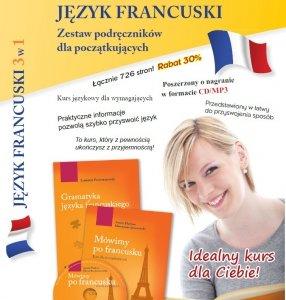 Język francuski 3w1. Zestaw podręczników dla początkujących