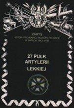 27 Pułk Artylerii Lekkiej (dodruk 2021)