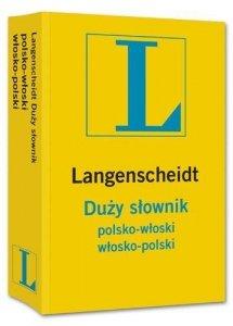 Duży słownik polsko-włoski, włosko-polski Langenscheidt