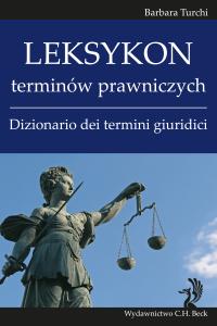 Leksykon terminów prawniczych (włoski). Dizionario dei termini giuridici
