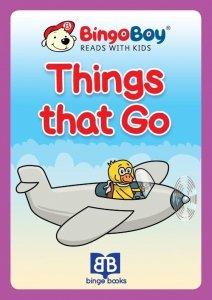 THINGS THAT GO. Lektura do nauki samodzielnego czytania po angielsku dla dzieci