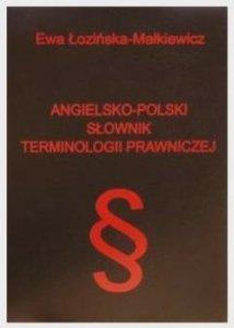 Angielsko-polski słownik terminologii prawniczej